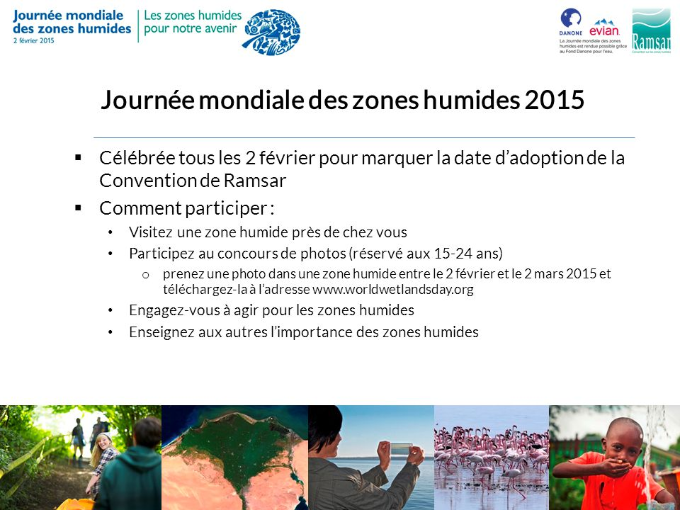 Journée mondiale des zones humides 2015