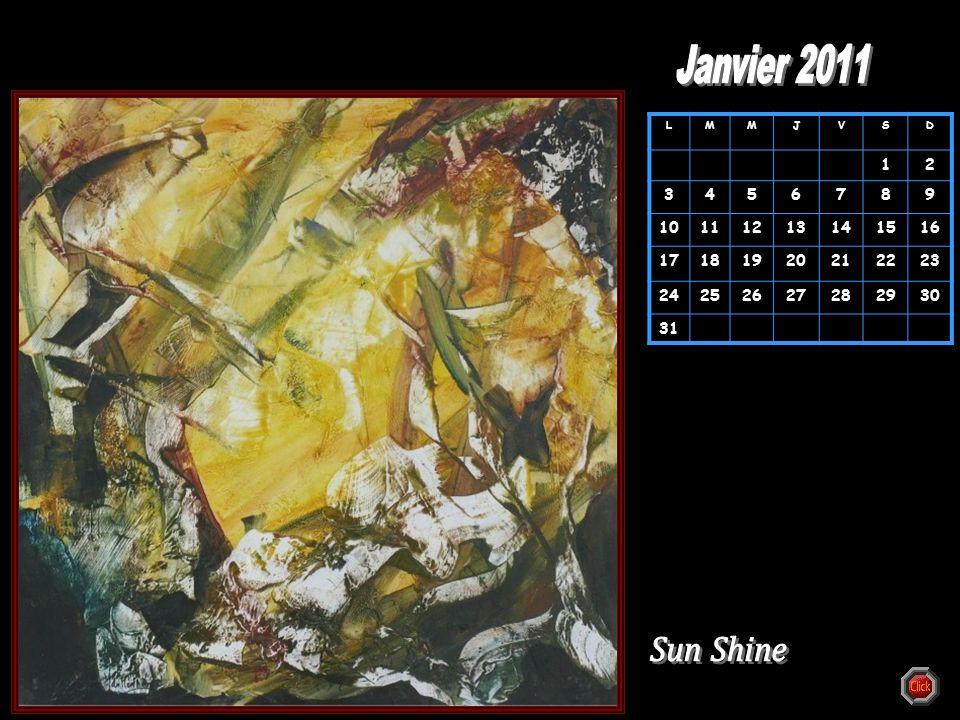 Janvier 2011 L. M. J. V. S. D. 1. 2. 3. 4. 5. 6. 7. 8. 9. 10. 11. 12. 13. 14. 15.