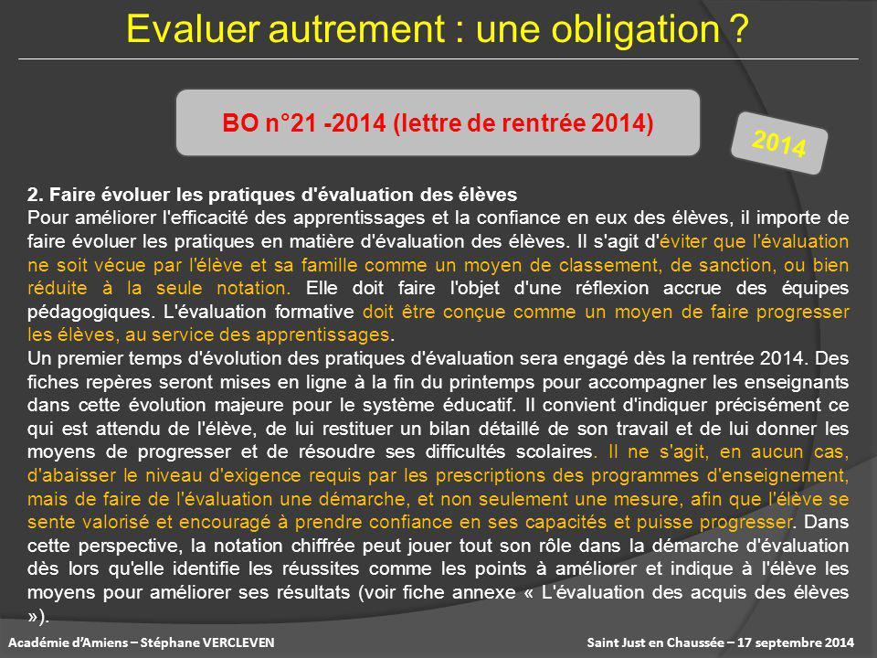 BO n°21 -2014 (lettre de rentrée 2014)