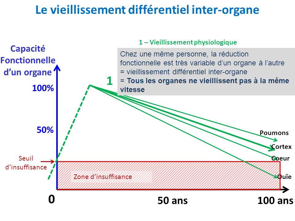 Le vieillissement différentiel inter-organe