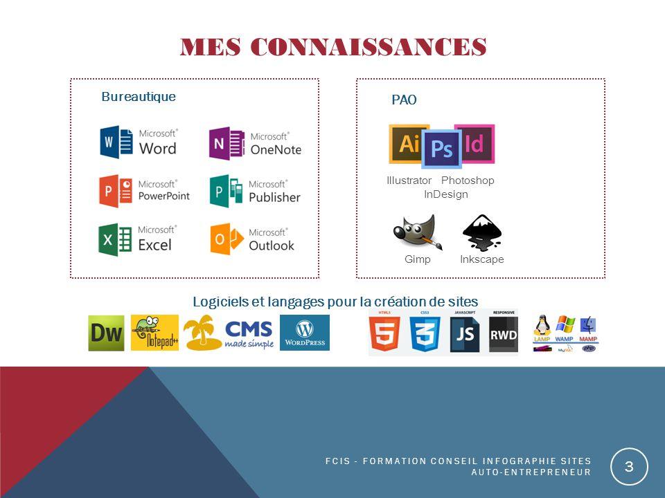 Logiciels et langages pour la création de sites