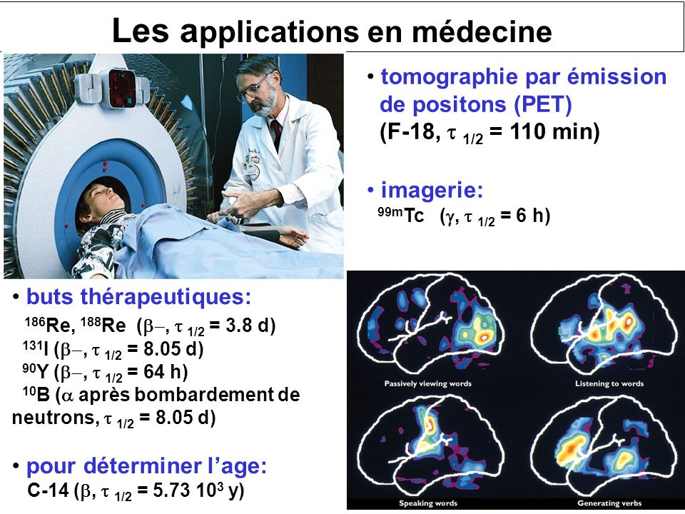 Les applications en médecine