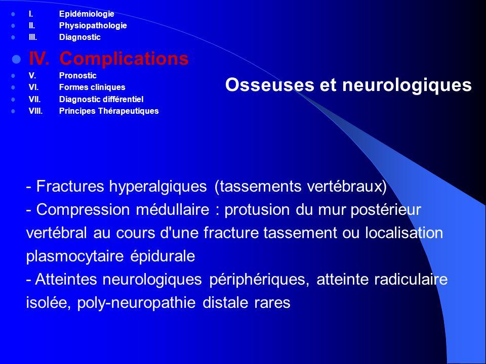 Osseuses et neurologiques