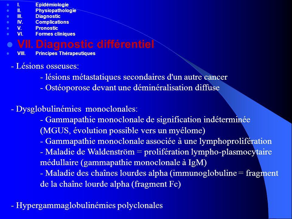 VII. Diagnostic différentiel