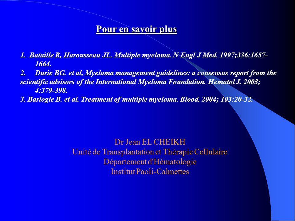Pour en savoir plus Dr Jean EL CHEIKH