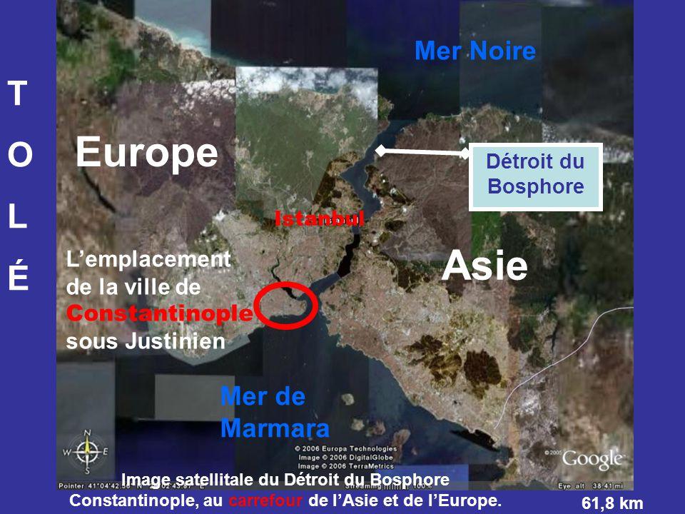 Europe Asie T O L É Mer Noire Mer de Marmara