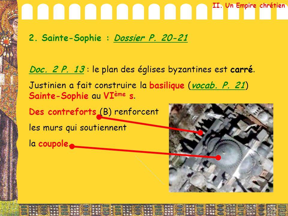 2. Sainte-Sophie : Dossier P. 20-21