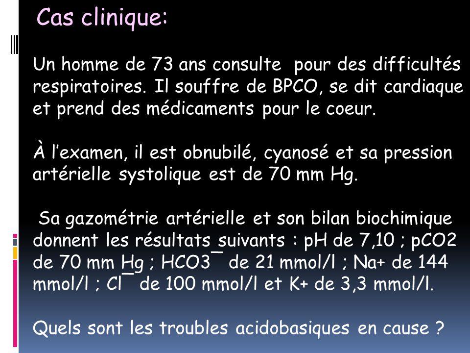 Cas clinique: