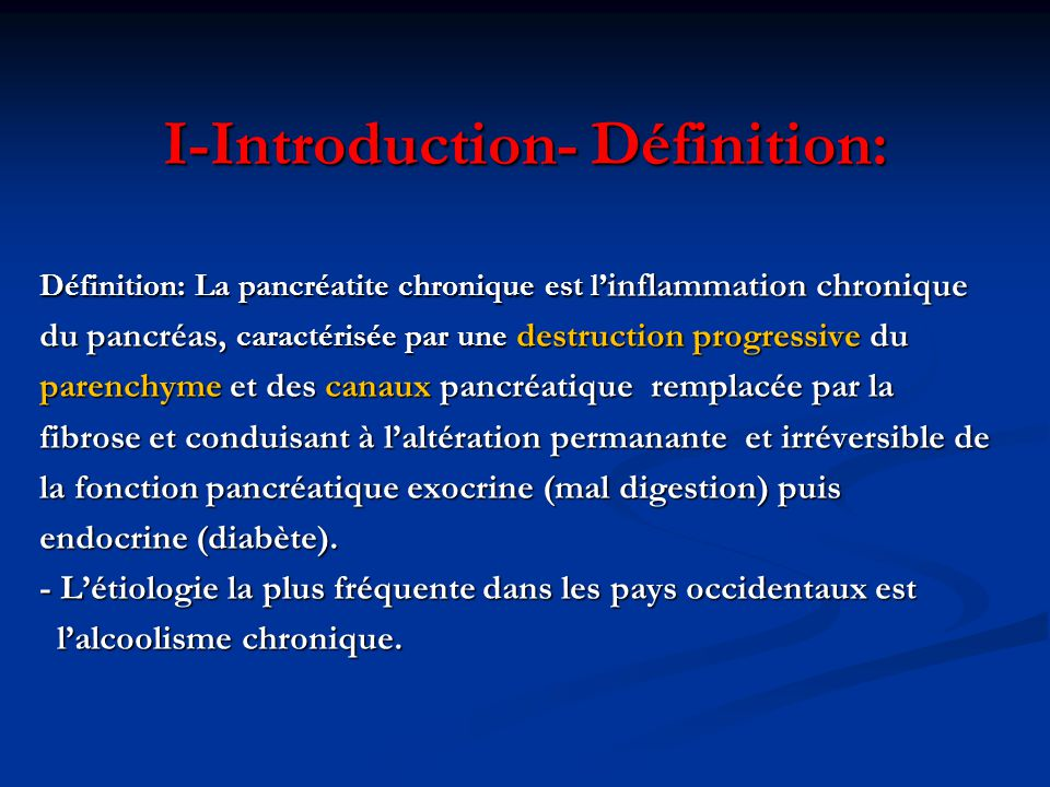 I-Introduction- Définition: