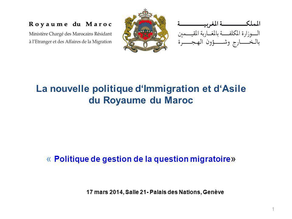 La nouvelle politique d'Immigration et d'Asile du Royaume du Maroc