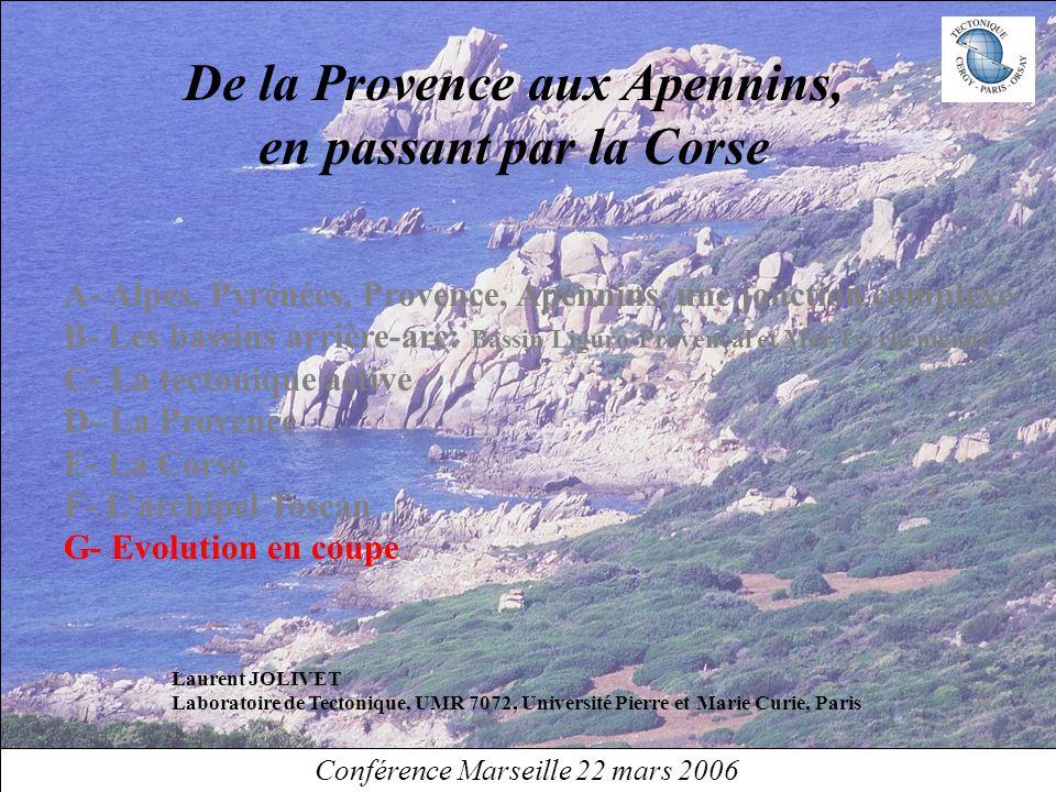 De la Provence aux Apennins,