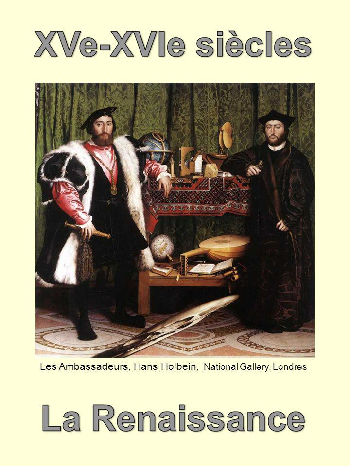 Les Ambassadeurs, Hans Holbein, National Gallery, Londres