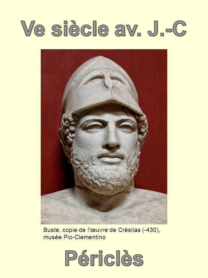 Buste, copie de l œuvre de Crésilas (-430), musée Pio-Clementino