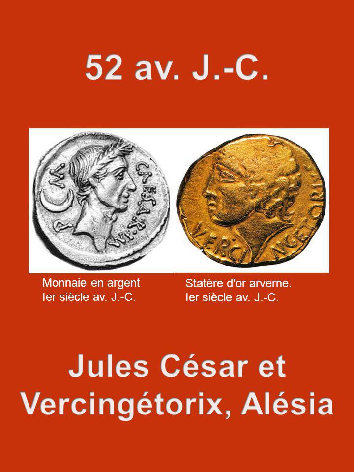 Monnaie en argent Ier siècle av. J.-C. Statère d or arverne.