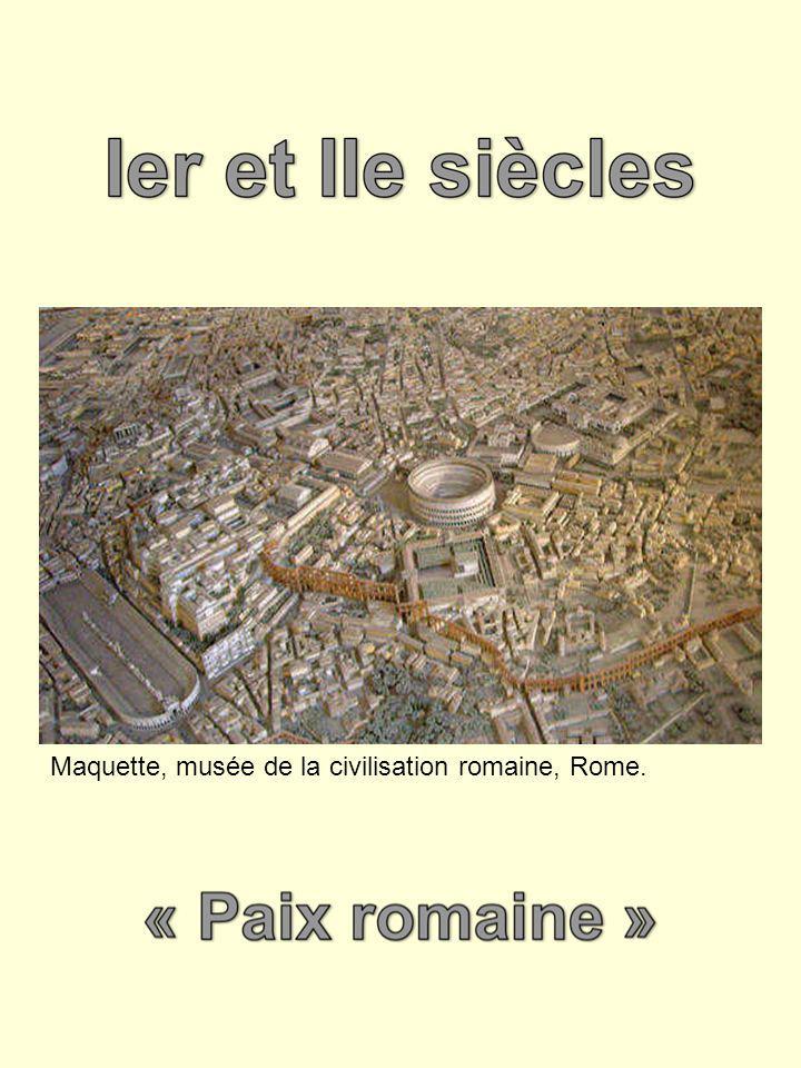 Maquette, musée de la civilisation romaine, Rome.