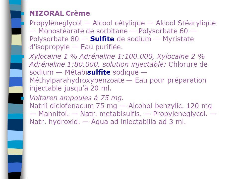NIZORAL Crème