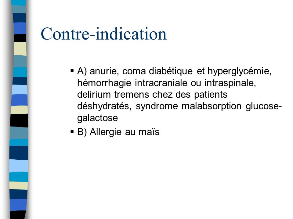 Contre-indication