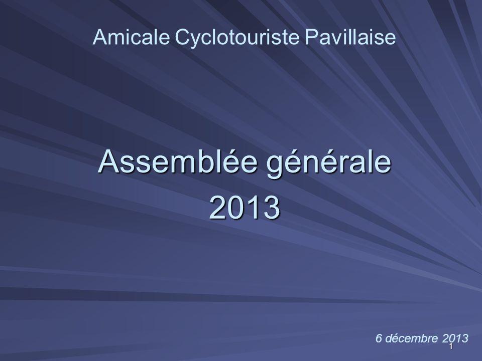 Amicale Cyclotouriste Pavillaise