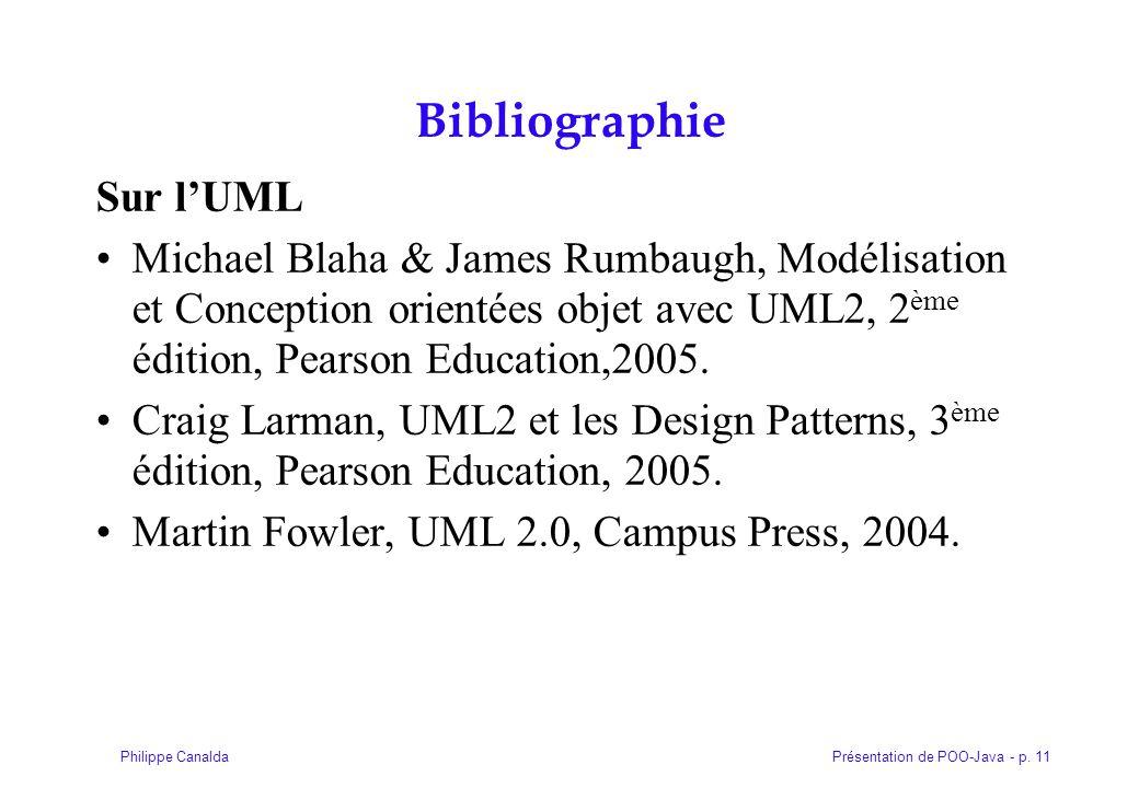 Bibliographie Sur l'UML