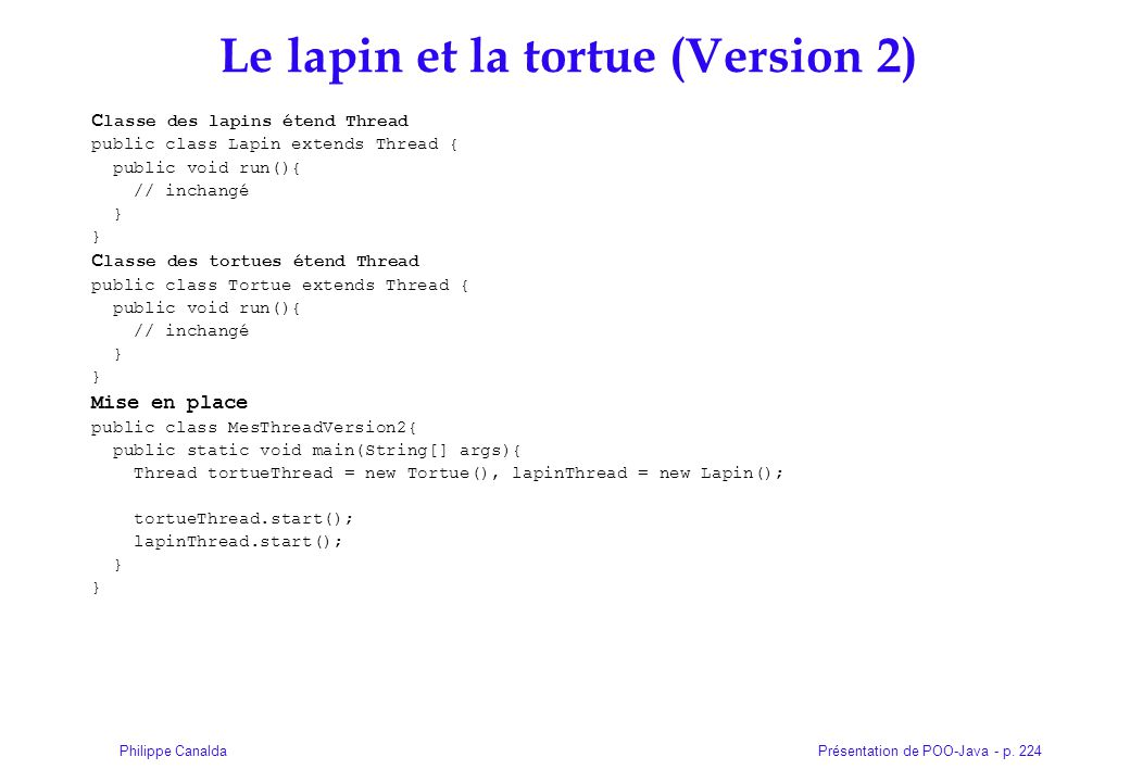 Le lapin et la tortue (Version 2)‏