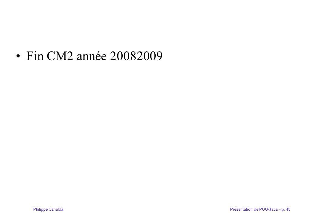 Fin CM2 année 20082009