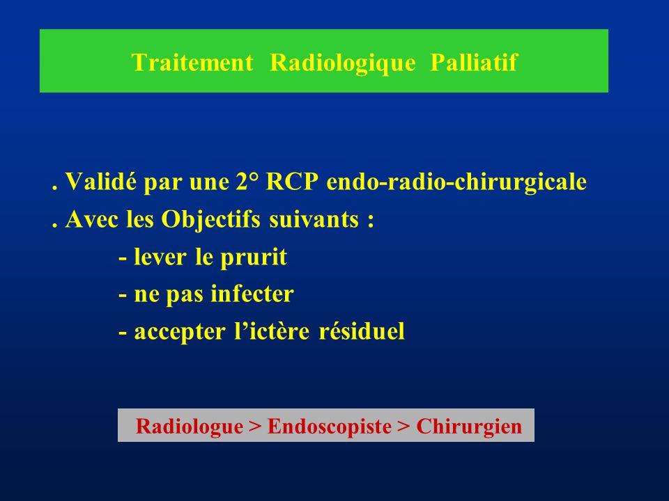 Traitement Radiologique Palliatif