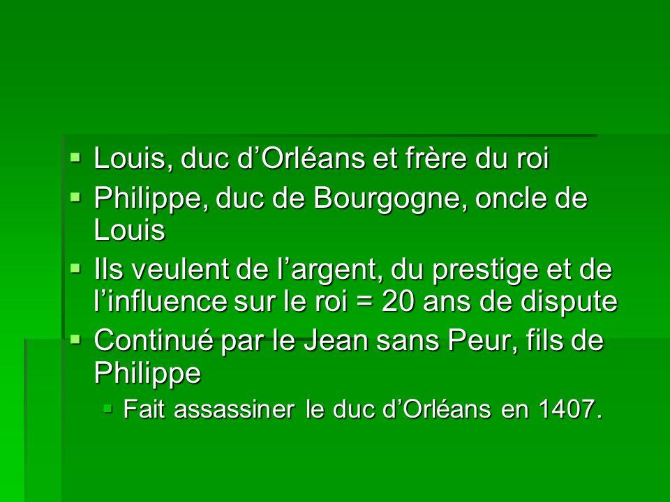 Louis, duc d'Orléans et frère du roi