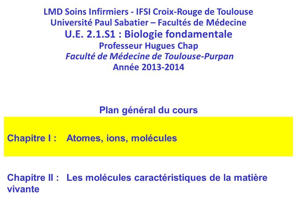 U.E. 2.1.S1 : Biologie fondamentale