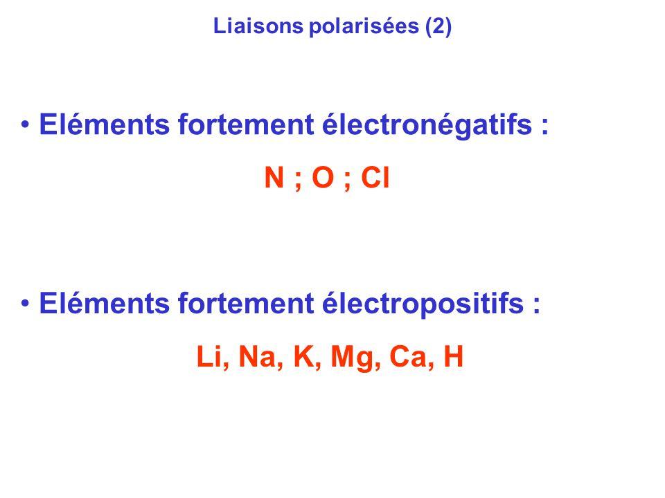 Liaisons polarisées (2)