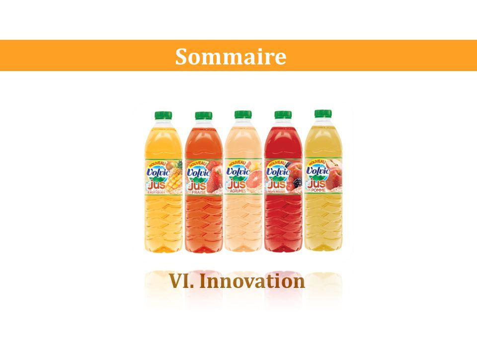 Sommaire VI. Innovation
