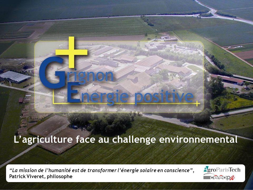 L'agriculture face au challenge environnemental