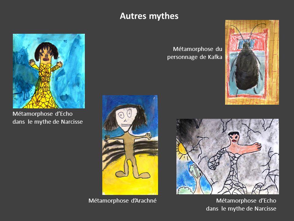 Autres mythes Métamorphose du personnage de Kafka