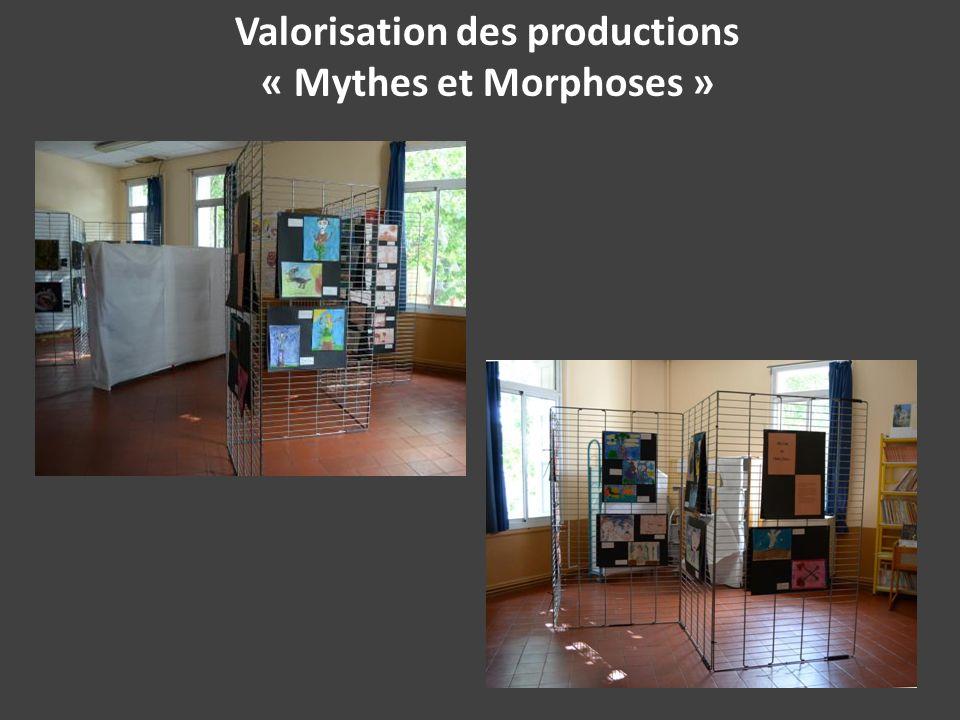 Valorisation des productions