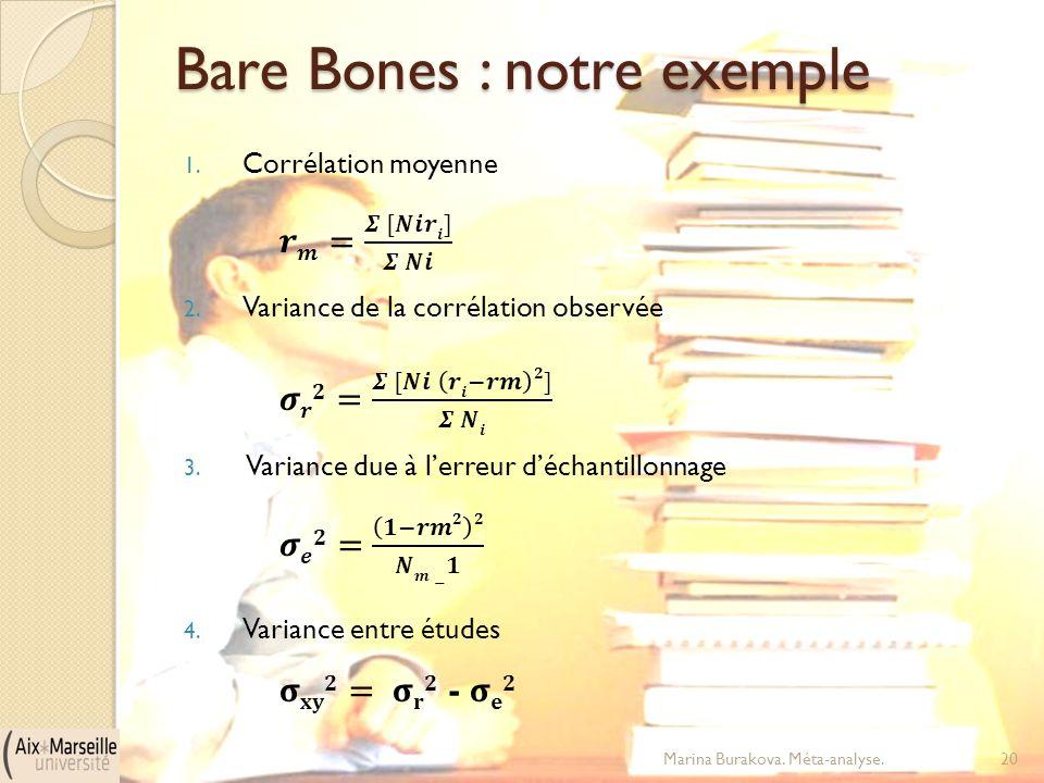 Bare Bones : notre exemple