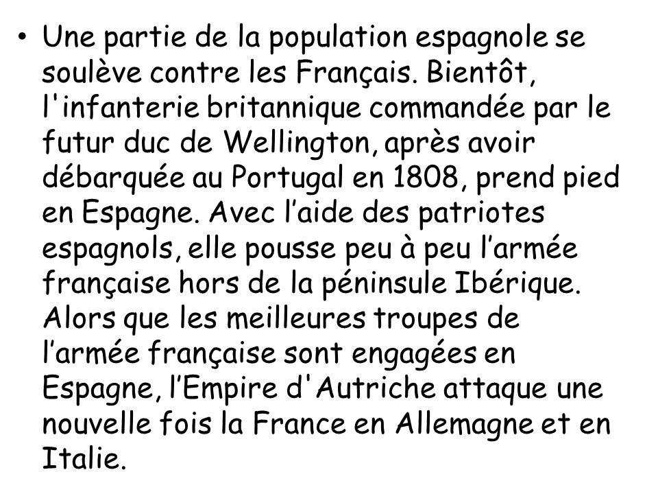Une partie de la population espagnole se soulève contre les Français