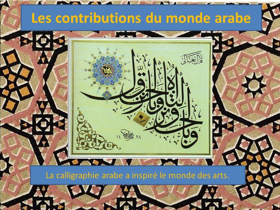 Les contributions du monde arabe