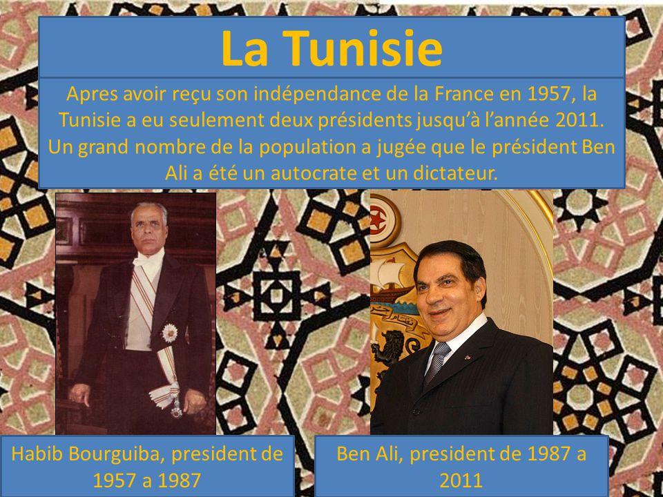 Habib Bourguiba, president de 1957 a 1987