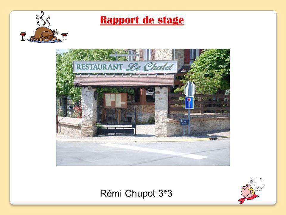 Rapport de stage Rémi Chupot 3e3