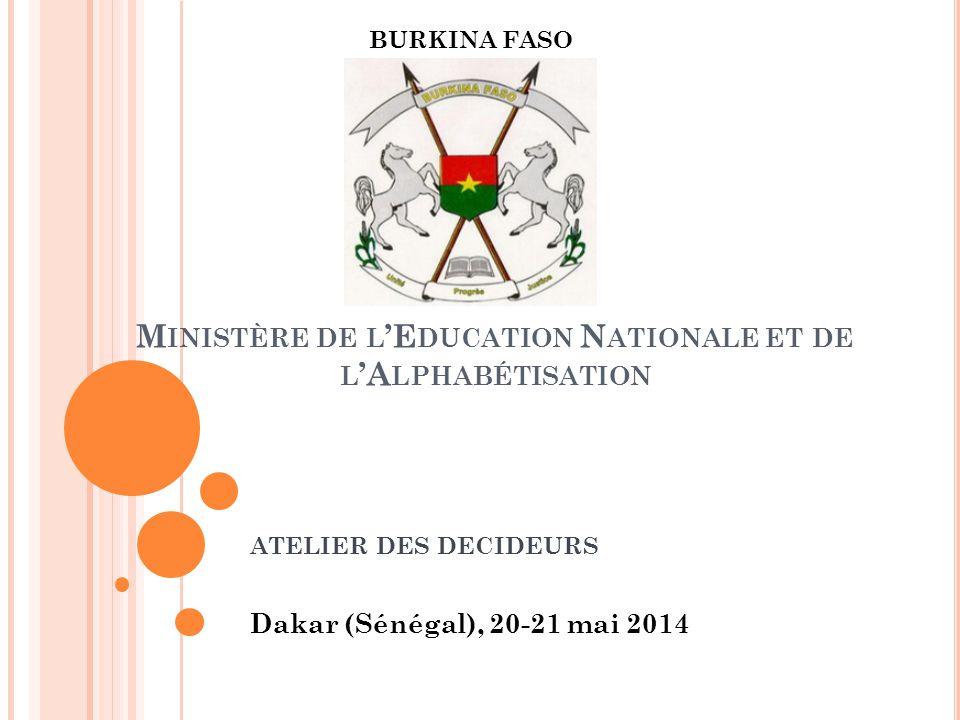 Ministère de l'Education Nationale et de l'Alphabétisation