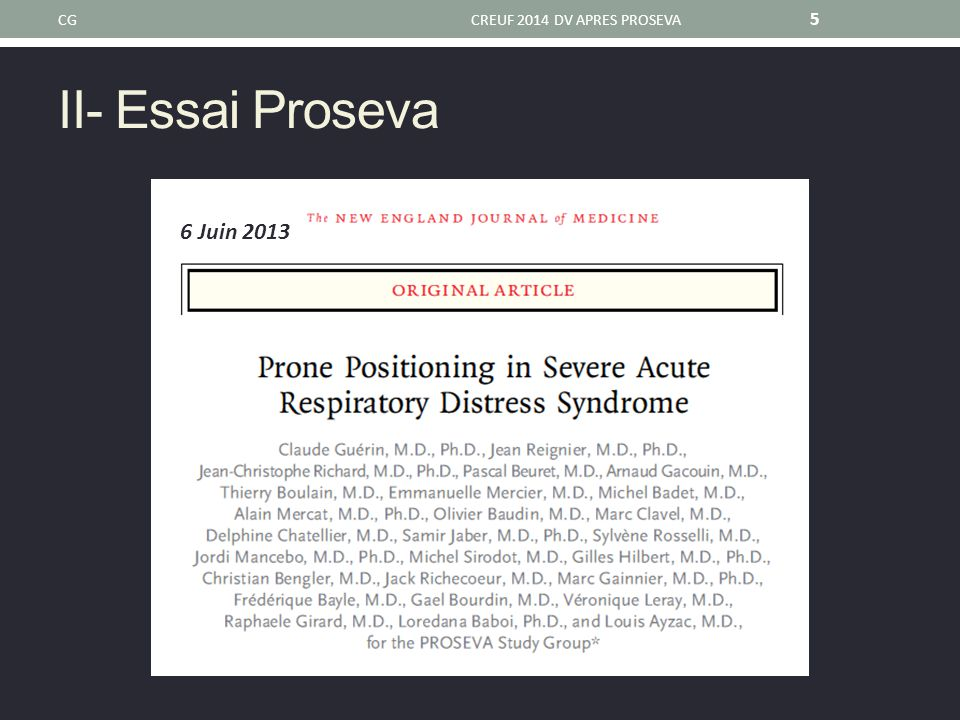CG CREUF 2014 DV APRES PROSEVA II- Essai Proseva 6 Juin 2013