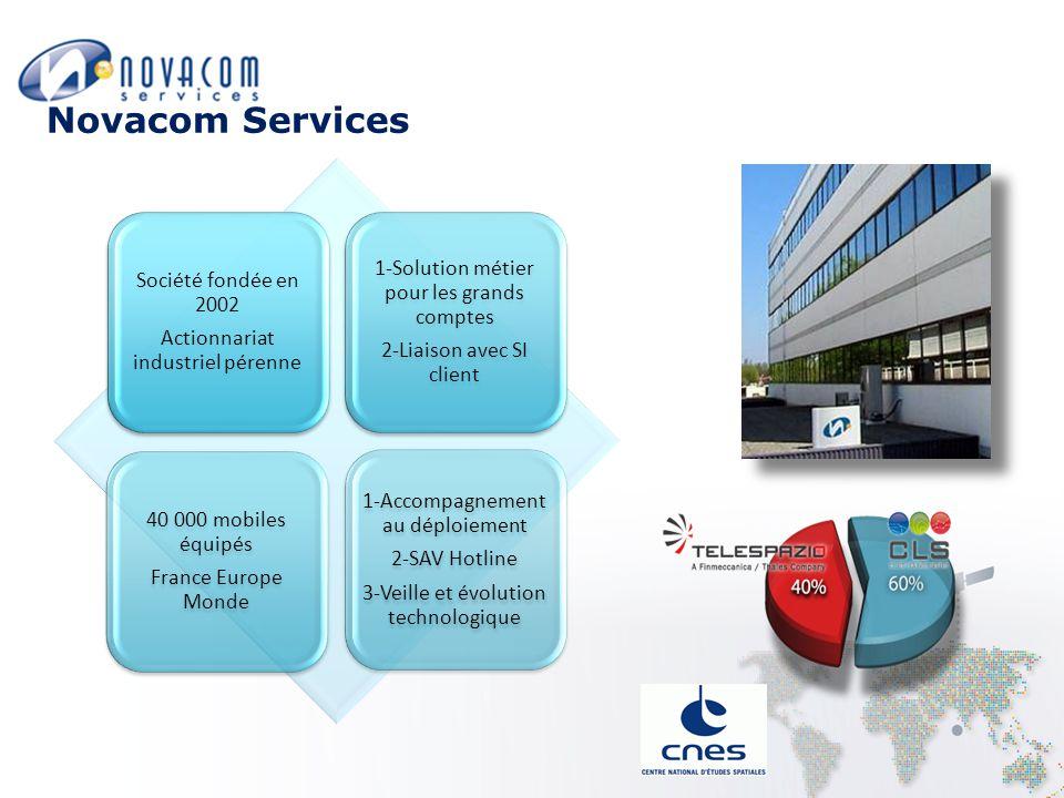 Novacom Services Société fondée en 2002
