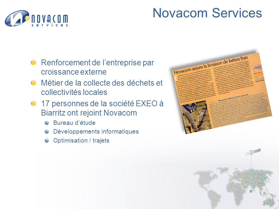 Novacom Services Renforcement de l'entreprise par croissance externe
