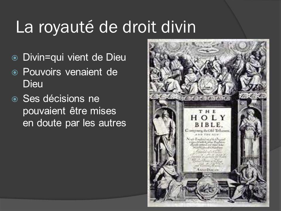 La royauté de droit divin
