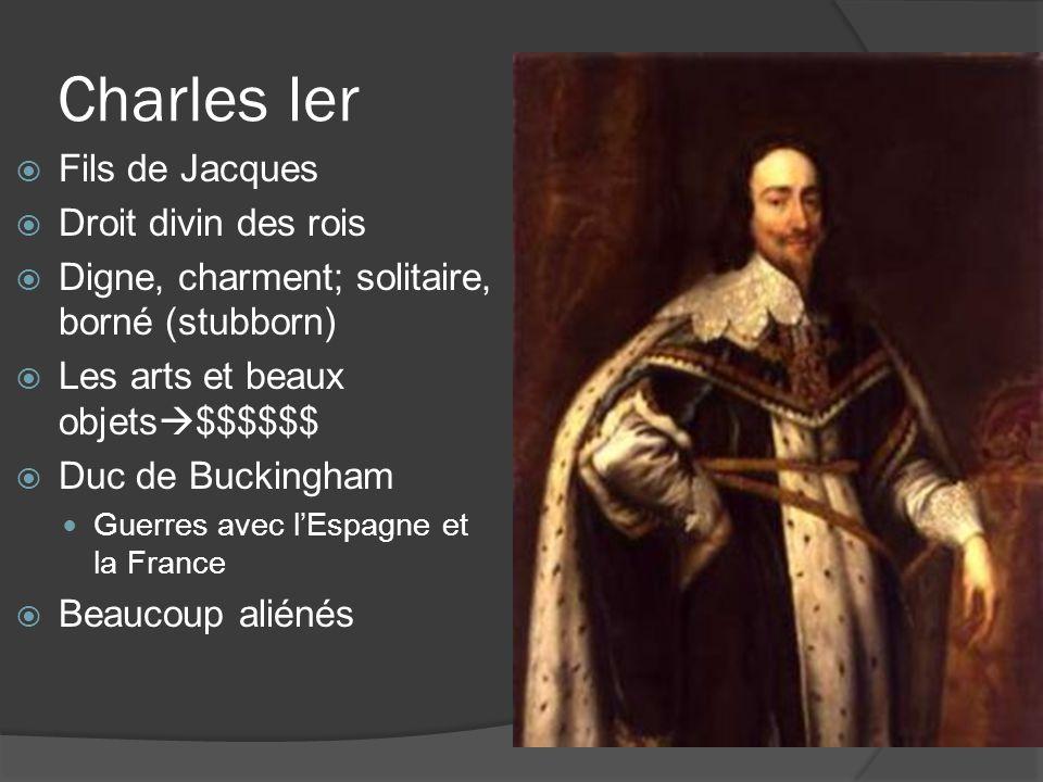 Charles Ier Fils de Jacques Droit divin des rois