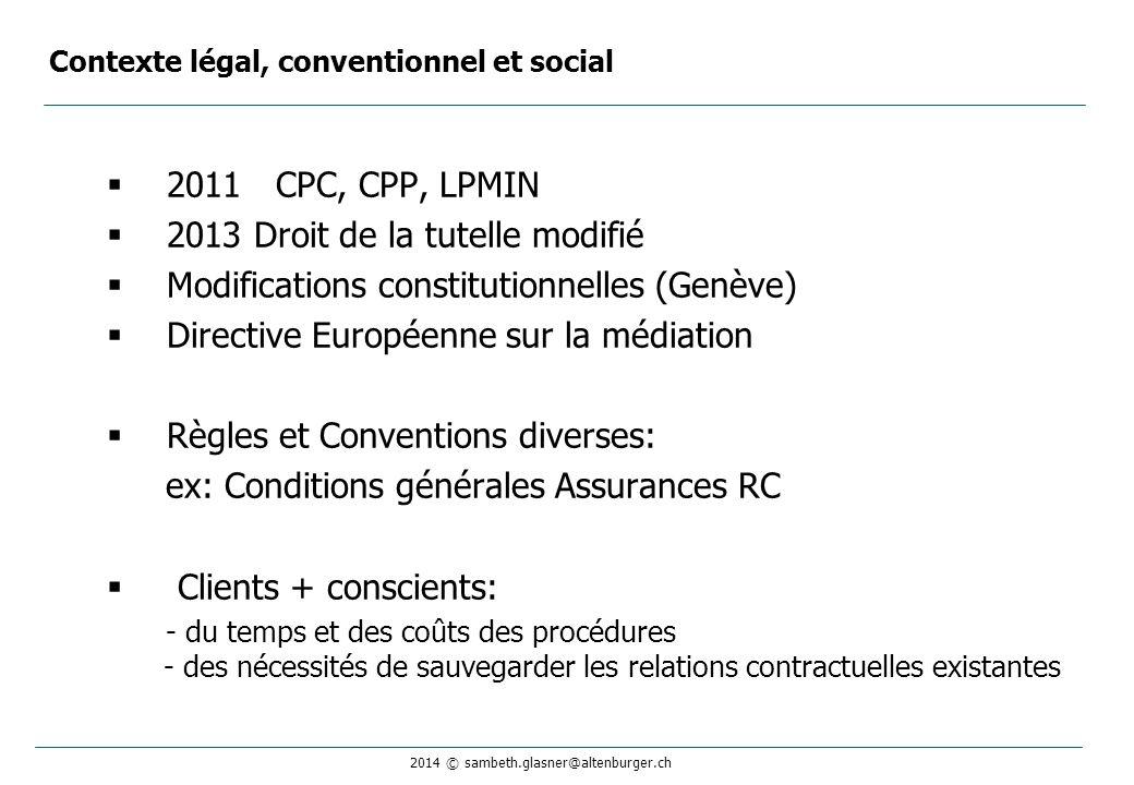 Contexte légal, conventionnel et social