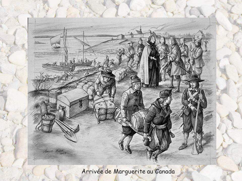 Arrivée de Marguerite au Canada