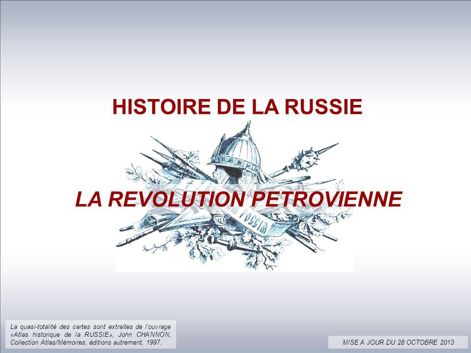 LA REVOLUTION PETROVIENNE