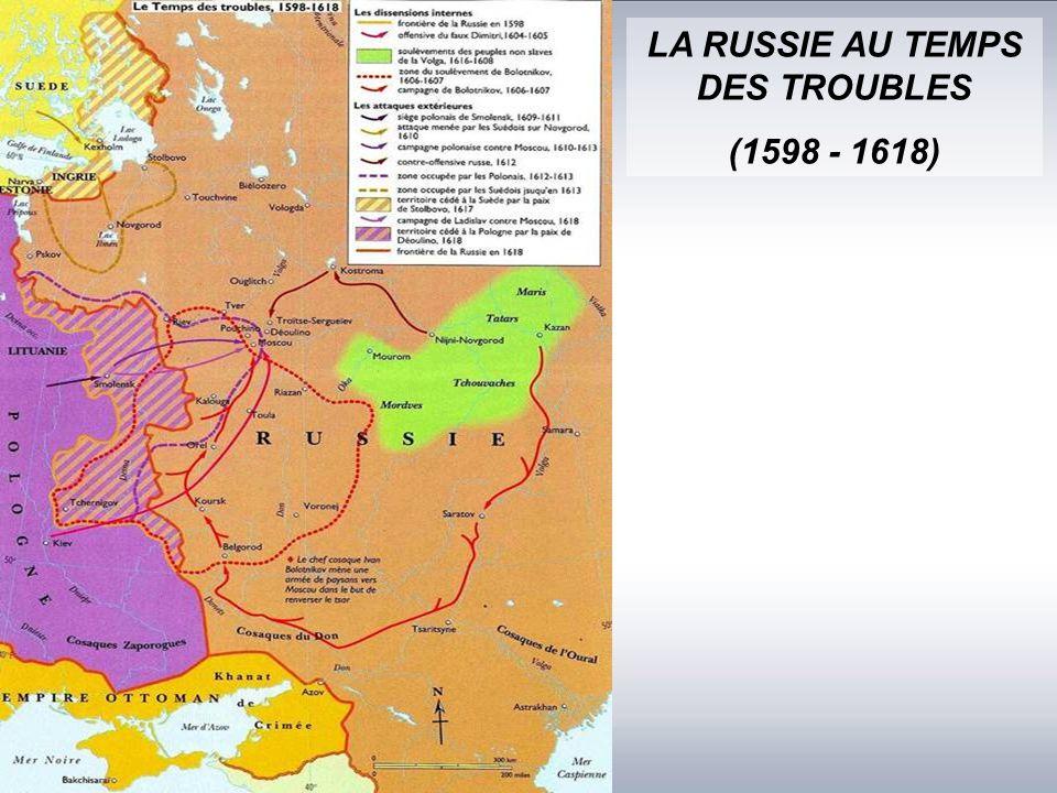 LA RUSSIE AU TEMPS DES TROUBLES