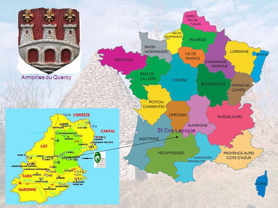 Armoiries du Quercy St Cirq Lapopie