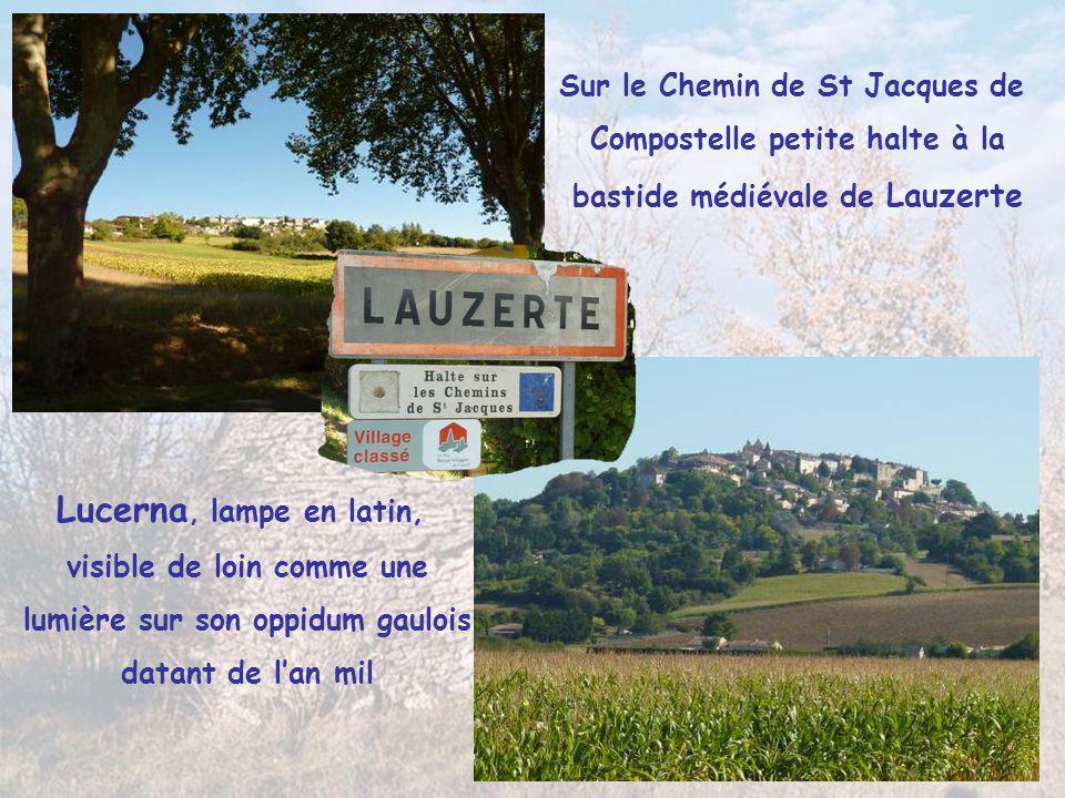 Lucerna, lampe en latin, Sur le Chemin de St Jacques de